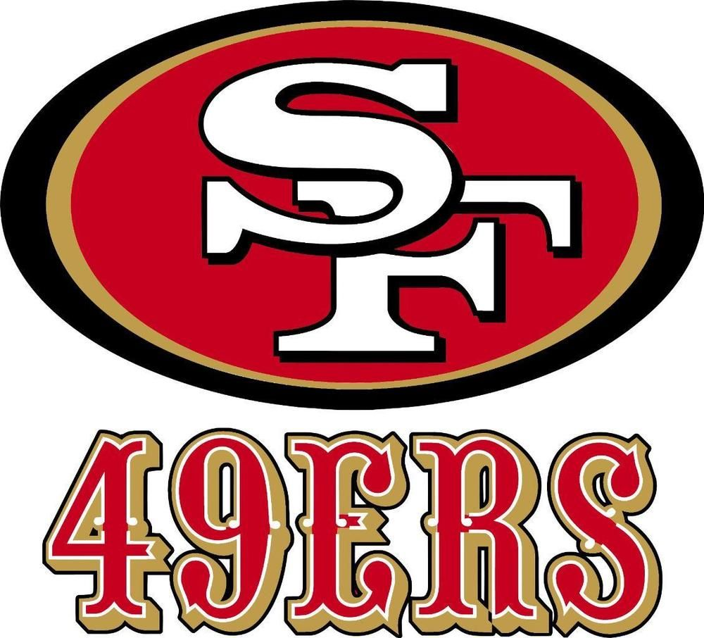 San Francisco 49ers wall decal (made with PHOTOTEX)not low end vinyl