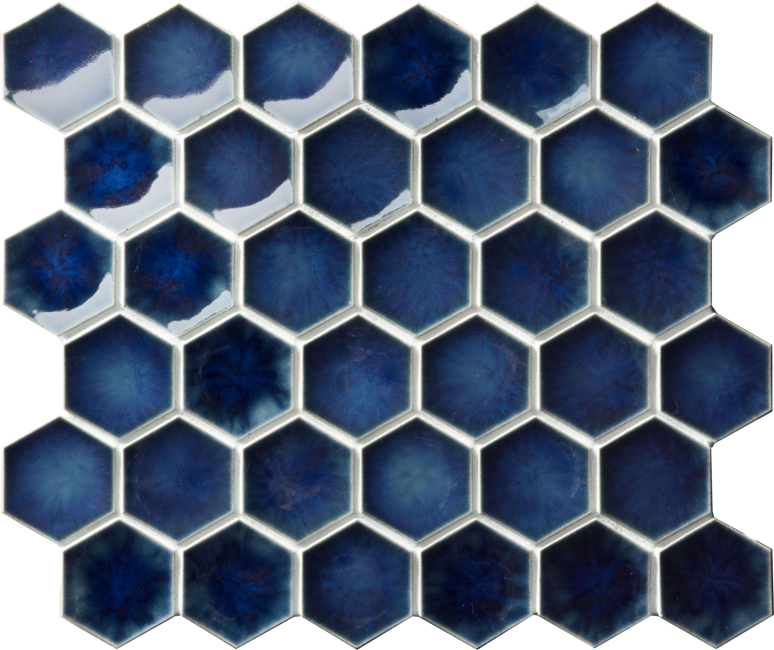 Setto 2 Godai Concave Hex in Gloss Blue