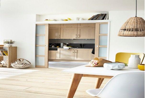 cuisine ouverte ou ferm e plus besoin de choisir d coration pinterest cuisine ouverte. Black Bedroom Furniture Sets. Home Design Ideas