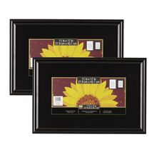 2 Pack Studio Decor Trendsetter Poster Frame Black 11 X 17 Studio Decor Poster Frame Frame