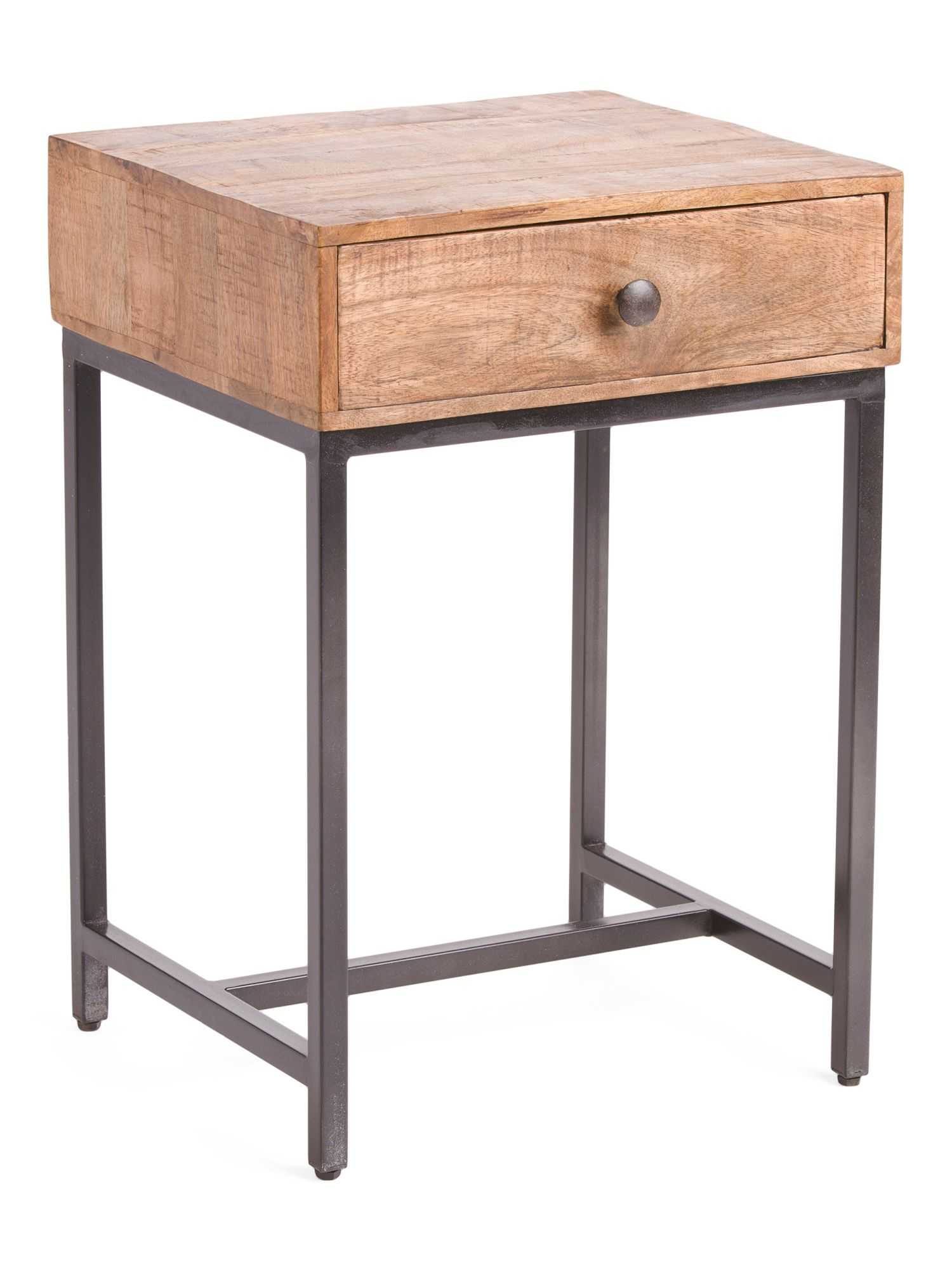 Mango Wood Hermione End Table - Accent Furniture - T.J.Maxx