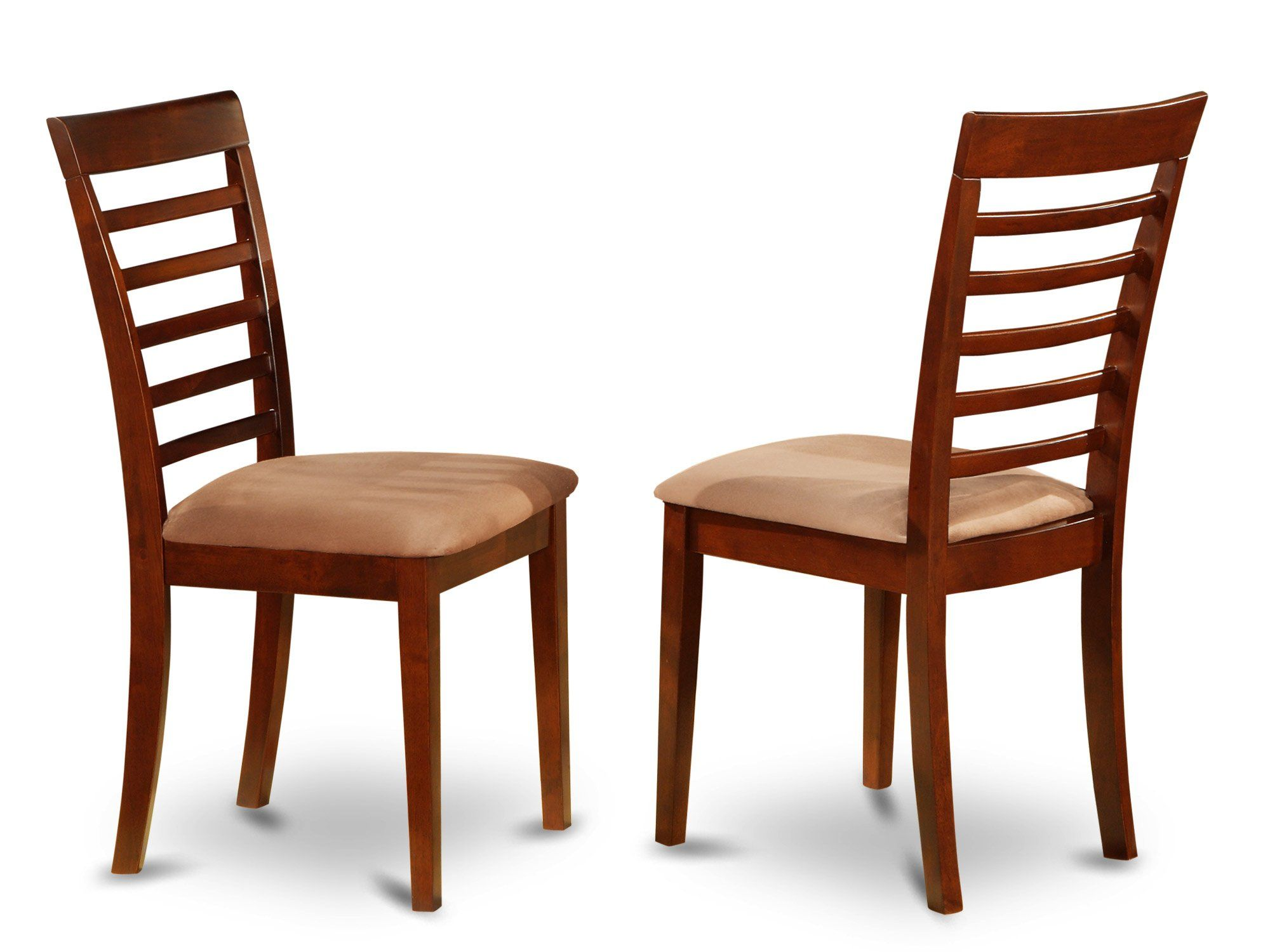 Merveilleux East West Furniture MLCMAHC Dining Chair Set With Padded Seat Mahogany  Finish Set Of 2 ** More Info Could Be Found At The Image Url.