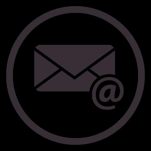 Diseno De Icono De Circulo De Correo Electronico Transparent Png Diseno De Icono Diseno De Correo Electronico Logo Correo