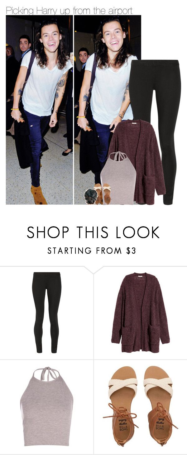 """""""picking up Harry from the airport"""" by sexyirishman ❤ liked on Polyvore featuring The Row, H&M and Billabong"""