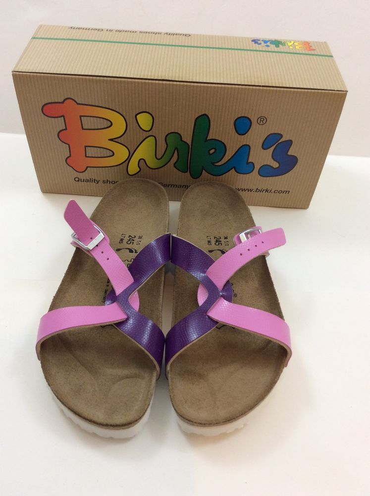 35a8efa0b7c18 Birki s by Birkenstock Sylt Mauve Purple Sandals- Size 39 - US 8.5-9. New!   Birkenstock  Slides