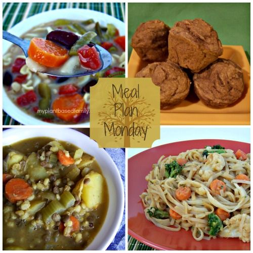 Meal Plan Monday: Quick Meals and Comforting Soups