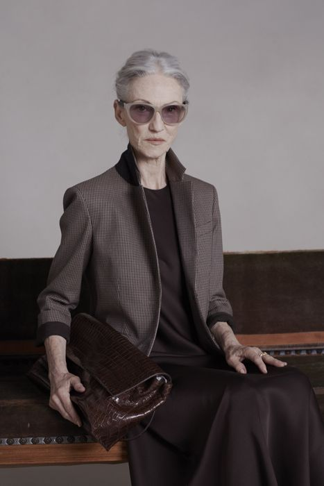 Linda Rodin, 65, Tapped By Olsens To Model For The Row Because She Rules