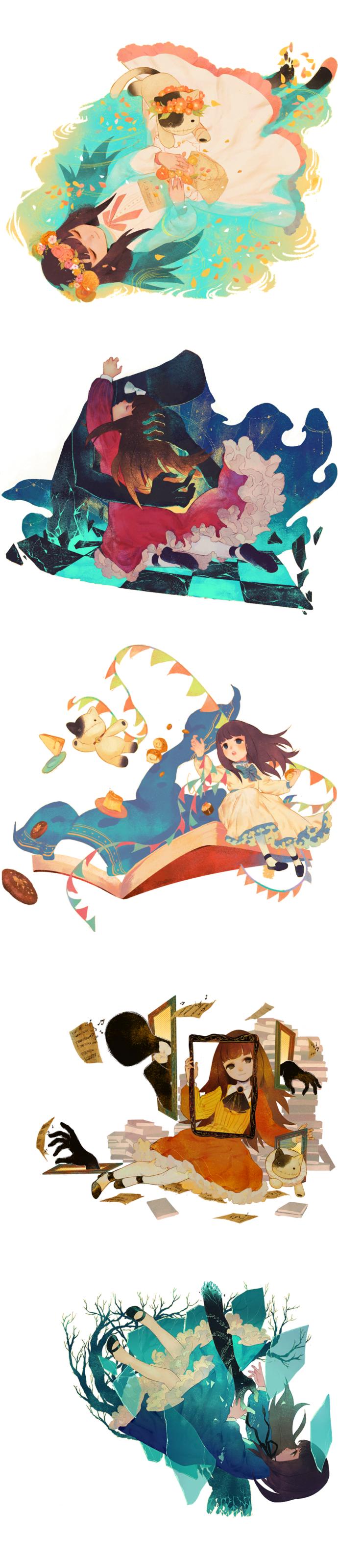 Deemo DS: Piano Collection  Eltina Samishigariya no gaisen Caramel Custard Noblesse Oblige Hanomai