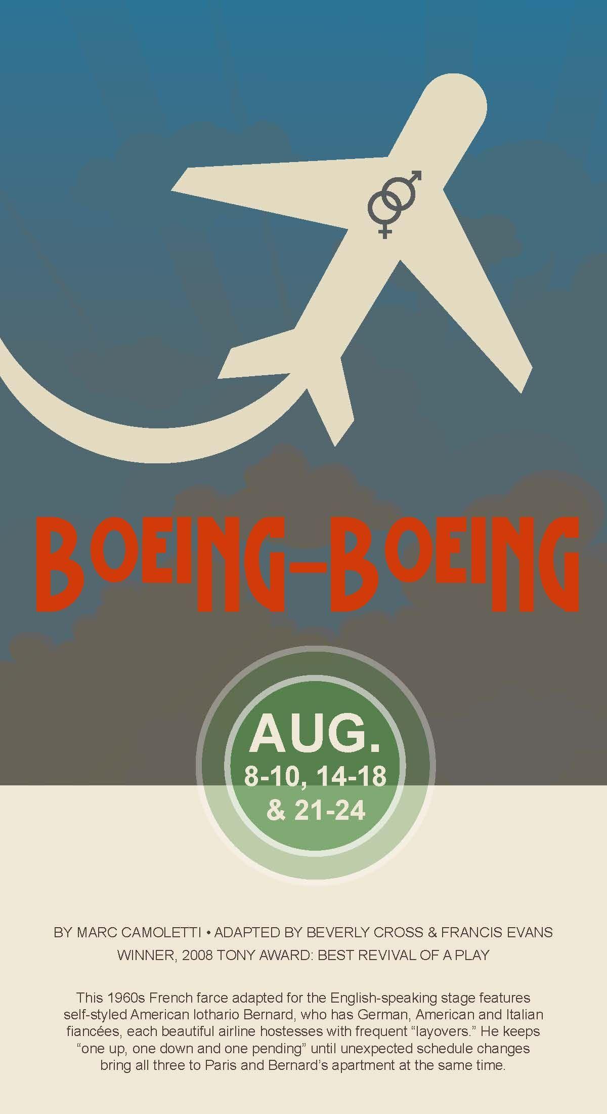 #BoeingBoeing #CircleTheatre 2013