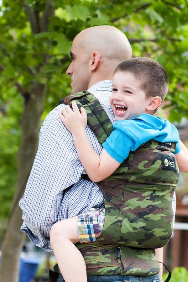 Boba G3 Baby and Toddler Carrier in Camo - click to view