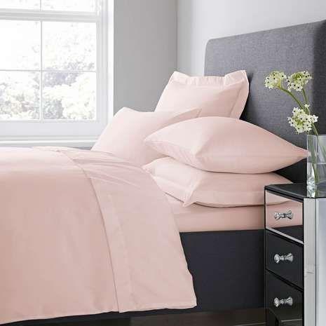 Fogarty Soft Touch Dusky Pink Duvet Cover and Pillowcase Set ... : fogarty quilts - Adamdwight.com