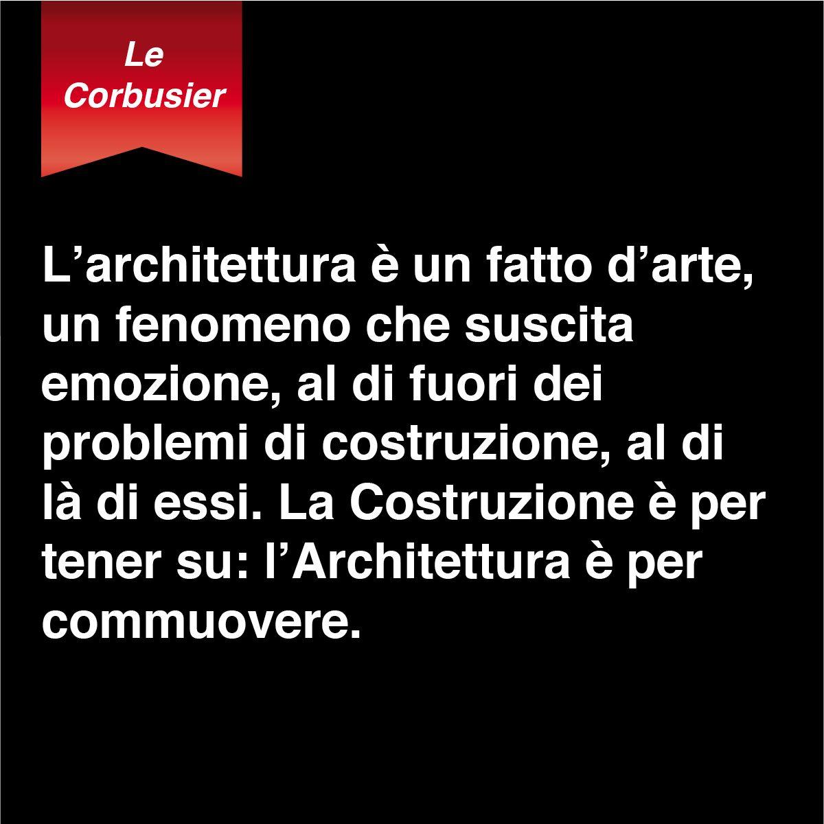 Le Corbusier Citazioni Architetto Le Corbusier