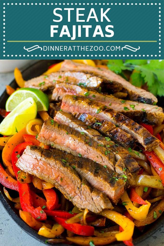 Steak Fajitas Recipe | Beef Fajitas | Steak Recipe #fajitas #steak #beef #mexicanfood #dinner #dinneratthezoo #beeffajitarecipe Steak Fajitas Recipe | Beef Fajitas | Steak Recipe #fajitas #steak #beef #mexicanfood #dinner #dinneratthezoo #beeffajitarecipe
