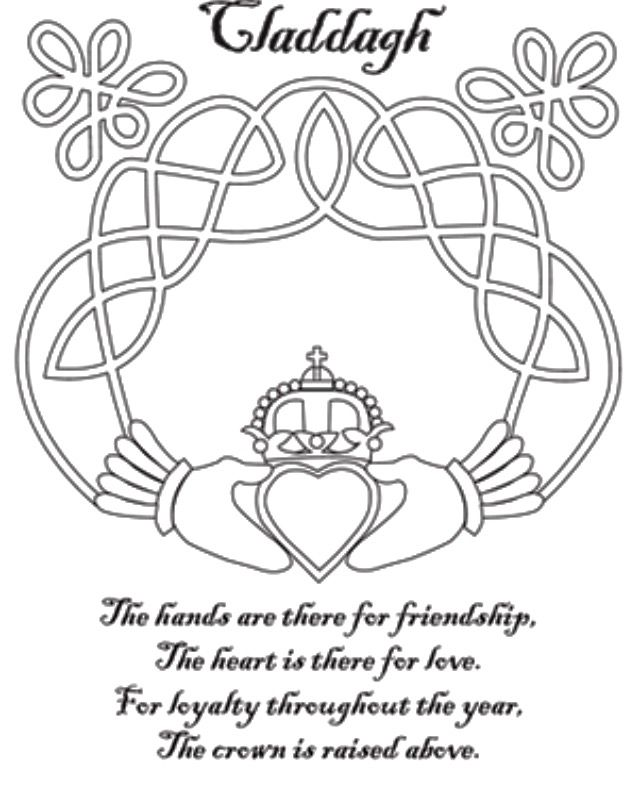 Pin By Cheryl Cobbing On Irish In 2020 Celtic Coloring Irish Symbols Coloring Pages
