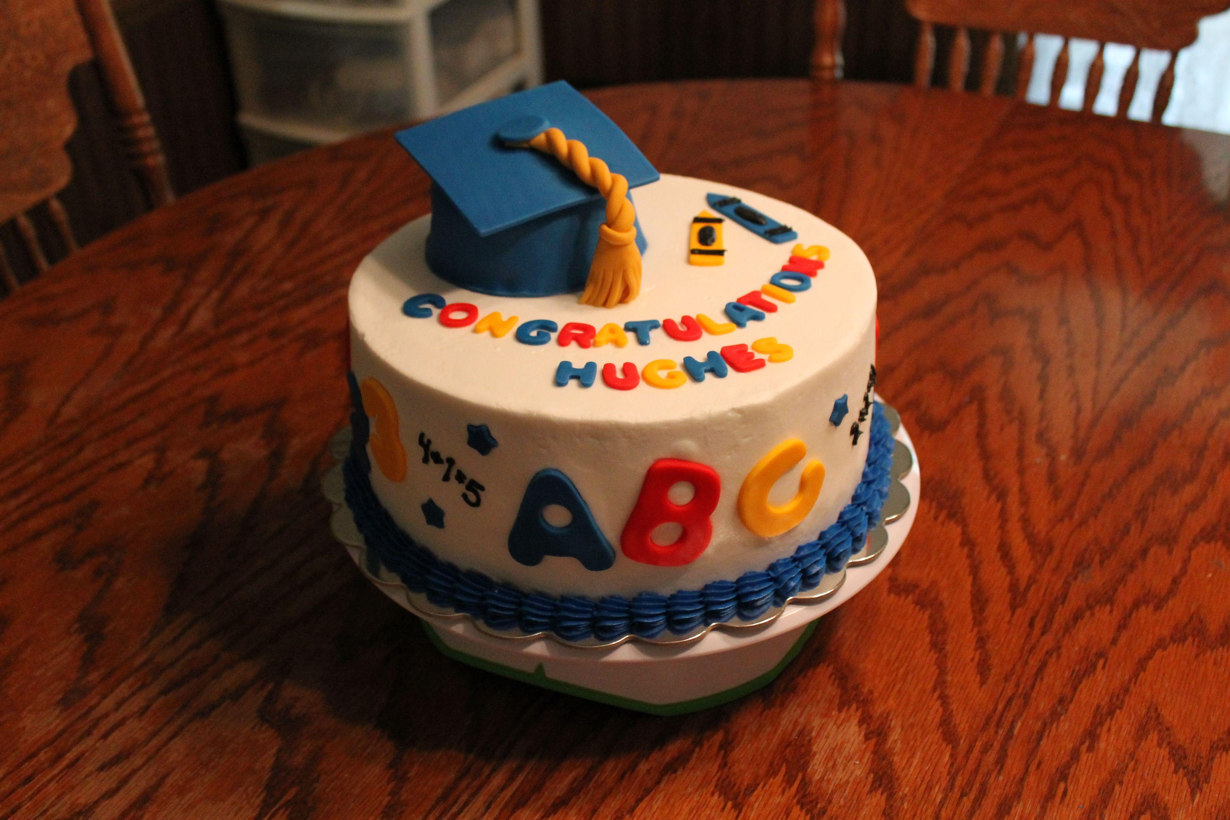 graduation cake design for kindergarten Kindergarten Preschool Graduation Cake Cakes Preschool  Preschool