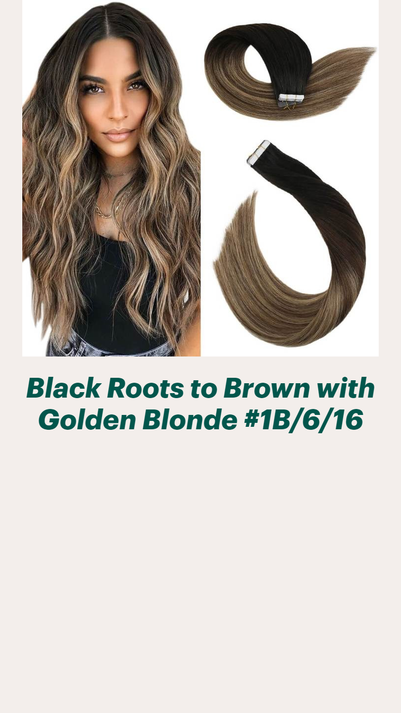 Balayage Ombre Tape in Hair Extensions(2) - Ugeat
