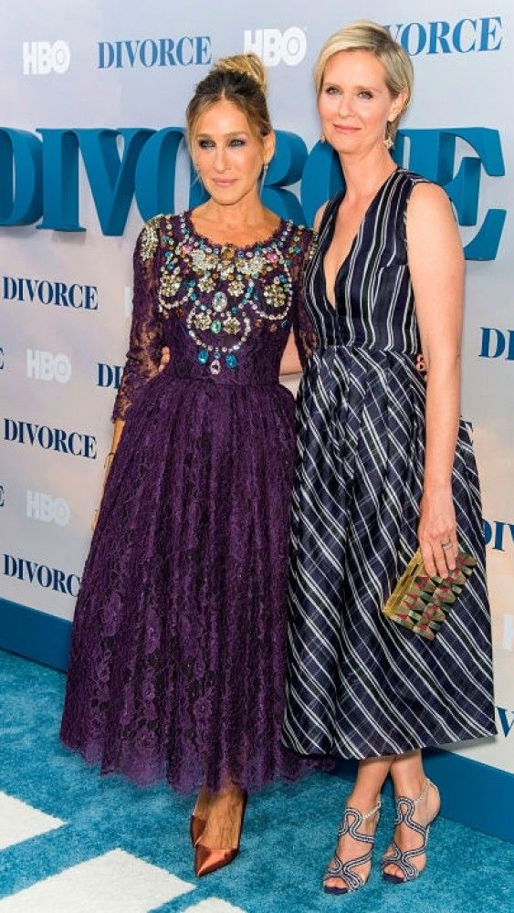 Sarah Jessica Parker & Cynthia Nixon