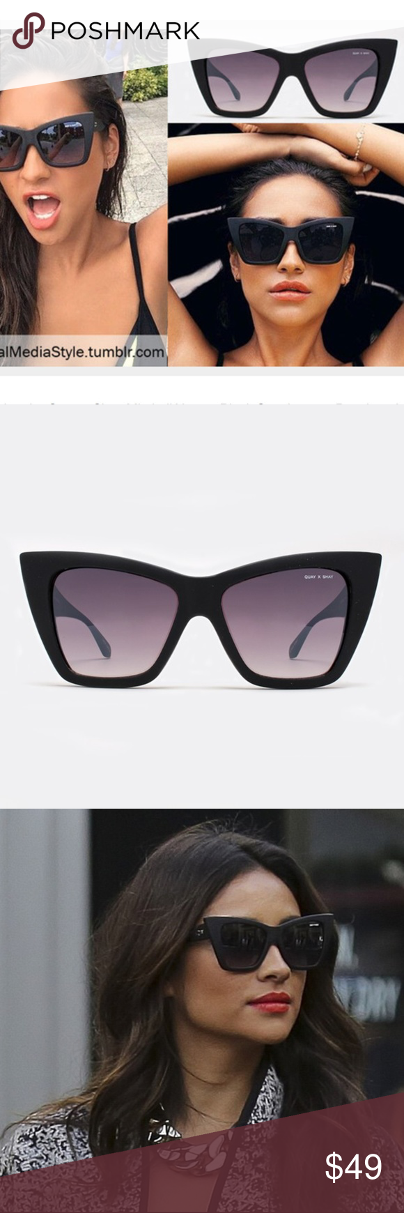 9af6e59a25 Quay x Shay Mitchell Vesper Sunglasses with case
