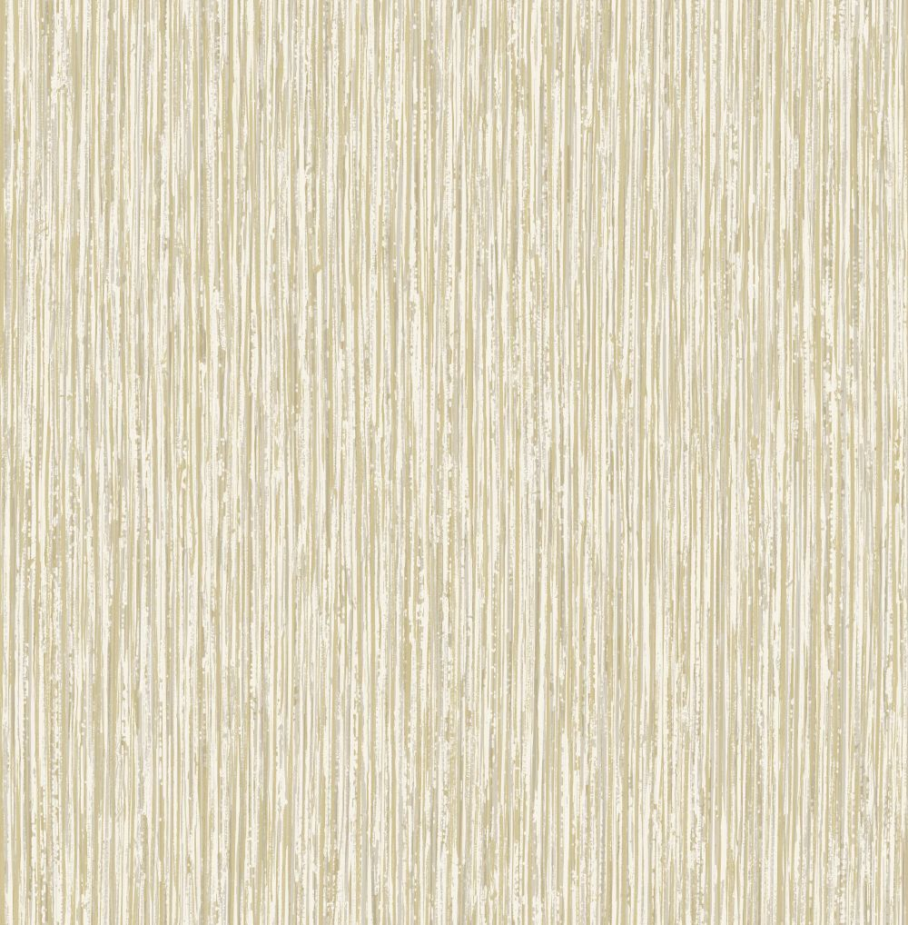 Vertical Grasscloth Effect by Albany White and Gold