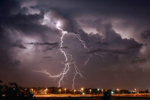 Lightning storm at sea of galilee coastline earth lightning lightning storm at sea of galilee coastline publicscrutiny Images