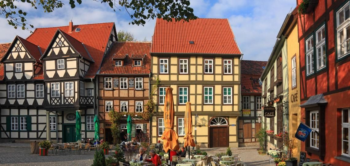 Quedlinburg HAVE TO GO Quedlinburg, Halberstadt und Stadt