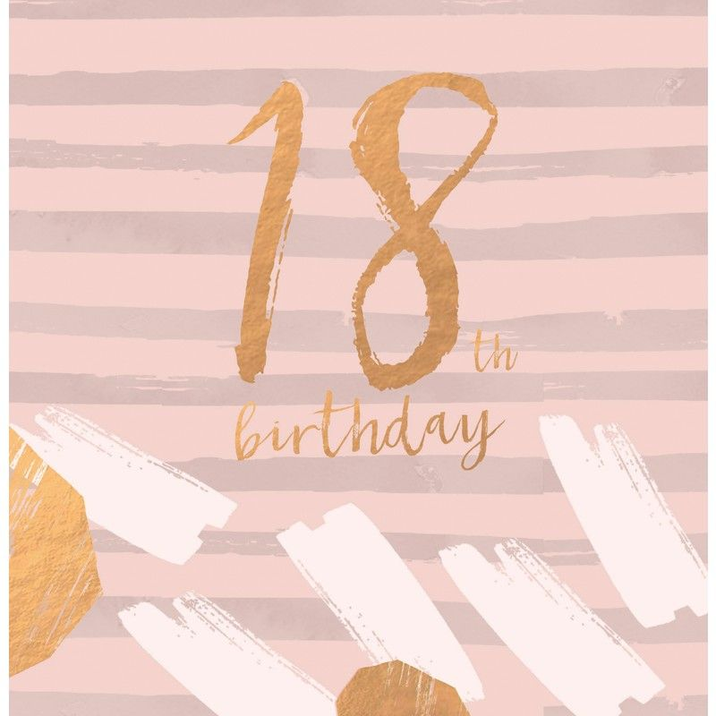 Beautiful birthday card featuring contemporary colours and