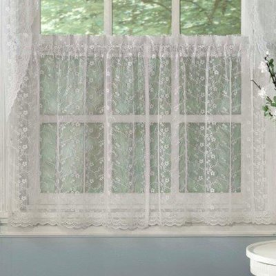 Ophelia Co Kraft Kitchen Tier Curtain Size 58 L X 24 W Sweet Home Collection Curtains Tier Curtains
