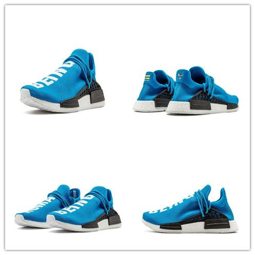 180a94855ef3e Adidas PW Human Race NMD Sharp Blue Replica Colorway  Blue White Black  Style Number  BB0618 Condition  New with Box and Unused Brand  Adidas  Version  Best ...