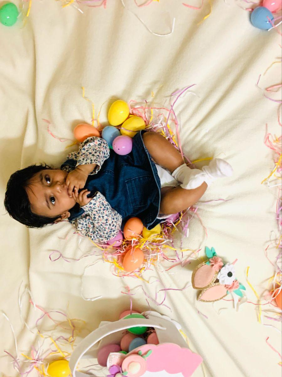 Baby photoshoot | Easter Theme