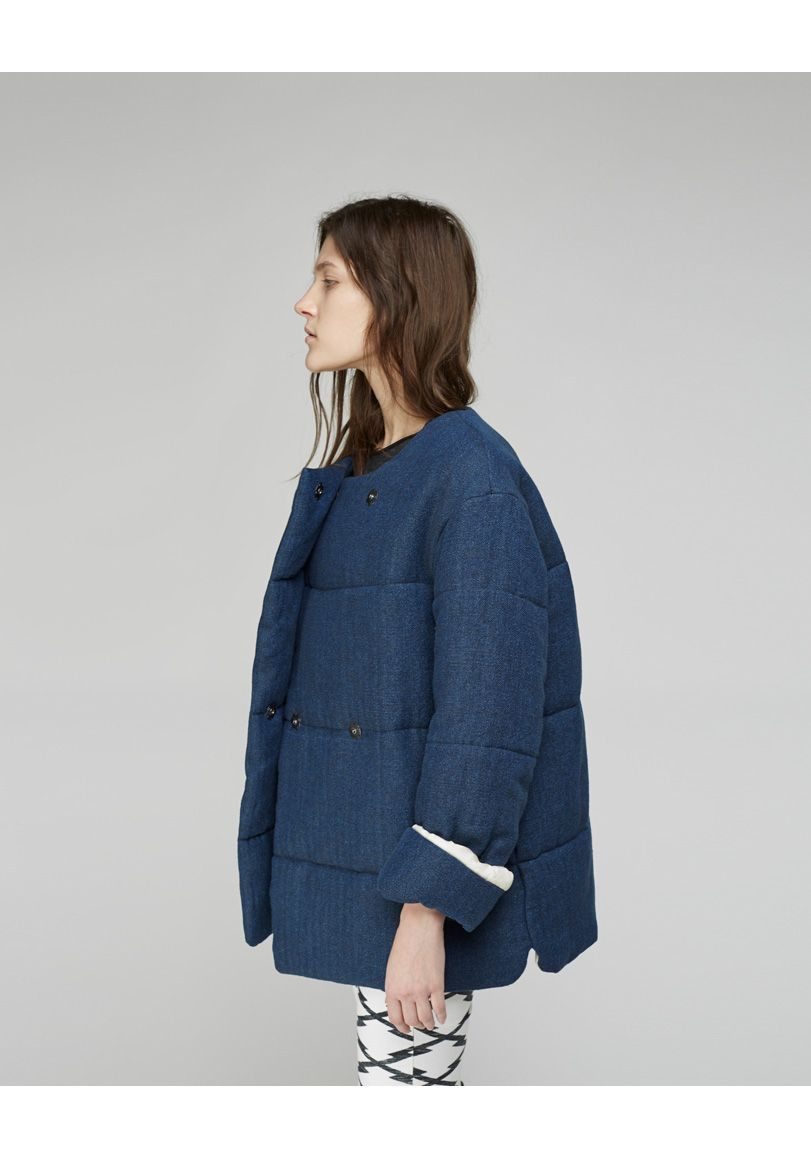 Isabel Marant Etoile Daley Quilted Coat Fashion Clothes Winter Fashion [ 1158 x 811 Pixel ]