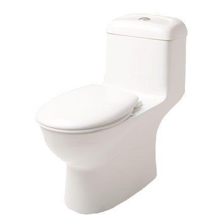 Caroma Caravelle Smart 270 One Piece Easy Height Elongated Dual Flush Toilet Dual Flush Toilet Caroma Toilet Sink