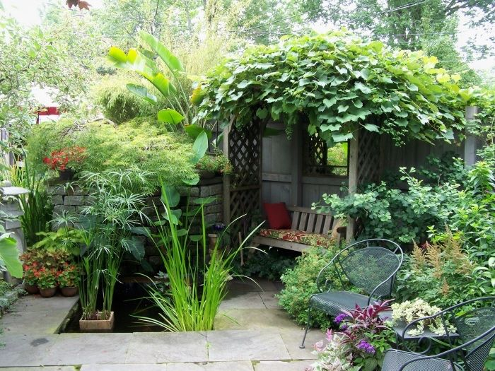 1001 Conseils Et Idees Pour Amenager Son Jardin Comme Un Pro Tonnelle Jardin Amenagement Jardin Et Design Jardin