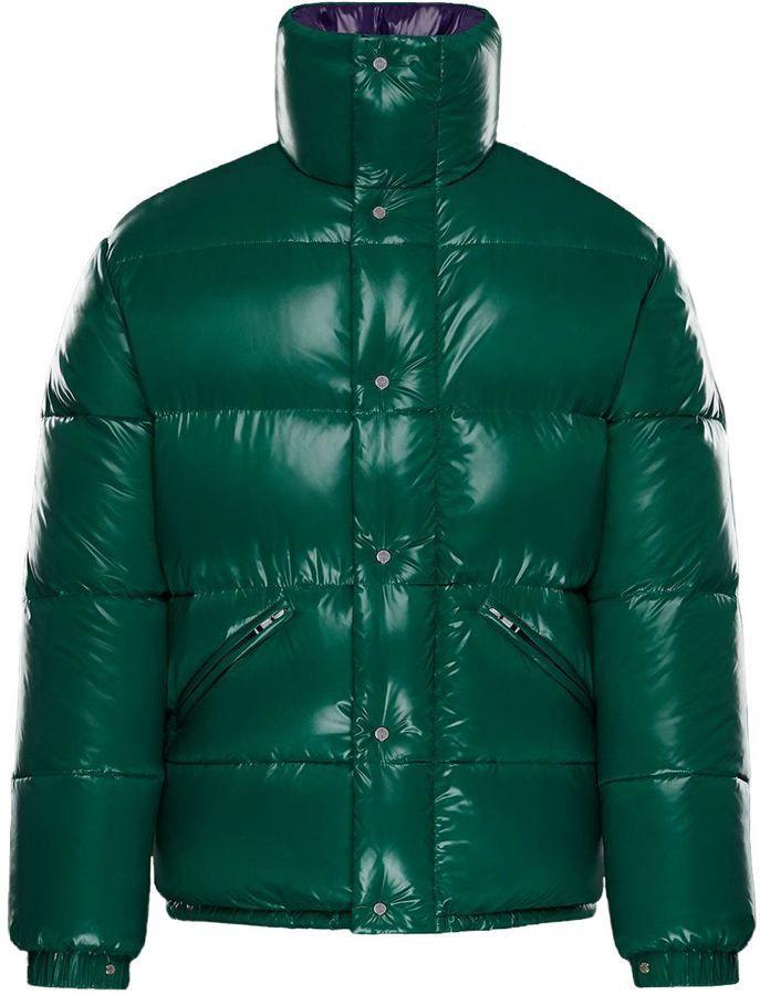 a4c52adc0 Moncler Piumino Uomo Dejan Verde-interno Viola