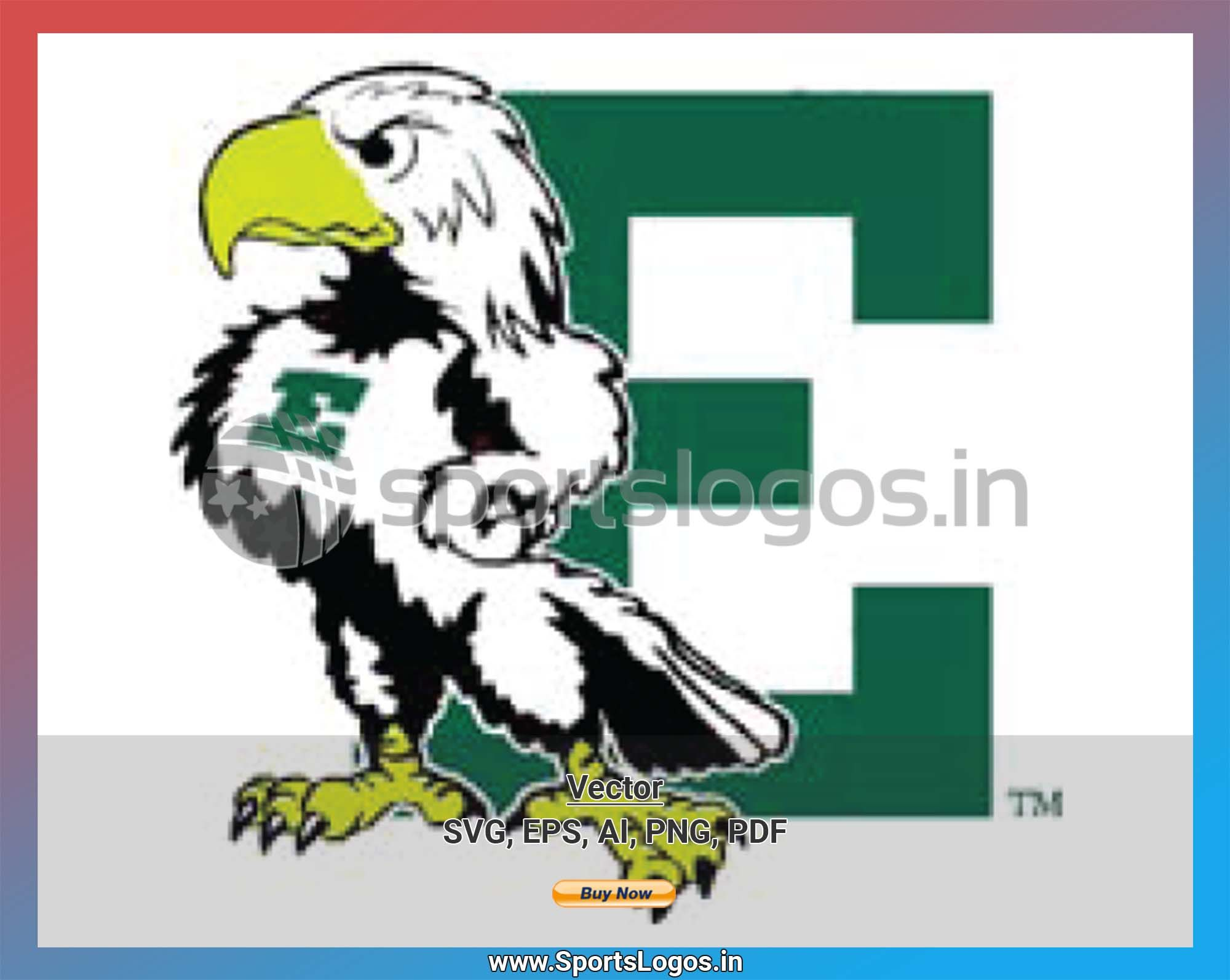 Eastern Michigan Eagles College Sports Vector Svg Logo In 5 Formats Spln001294 Sports Logos Embroidery Vector For Nfl Nba Nhl Mlb Milb And More Eastern Michigan Sports Logo Embroidery Logo