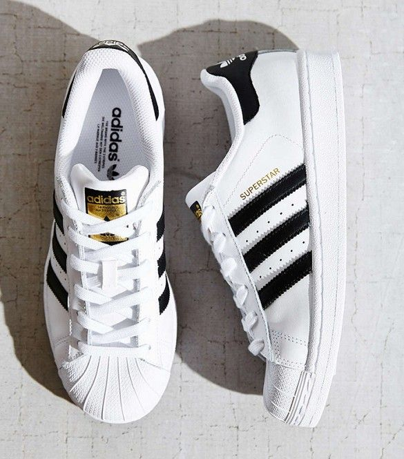 zapatillas adidas blancas rayas negras