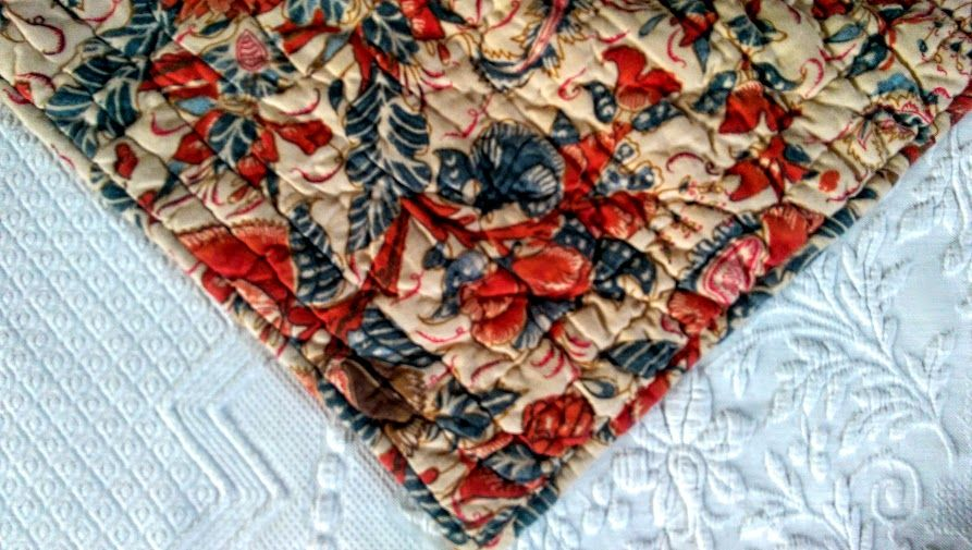 Pottery Barn Jordan Palampore Std Quilted Sham Floral Cotton