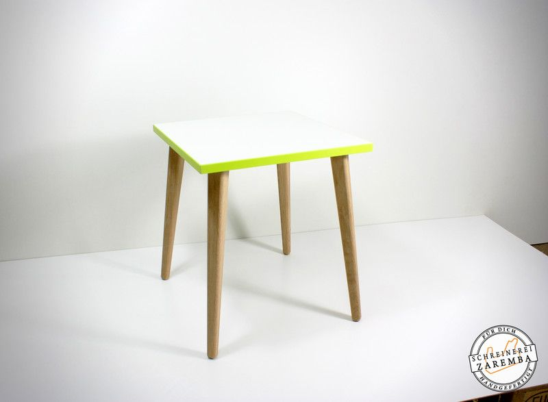 beistelltische beistelltisch skandinavisches design 36x36cm farbton wei beschichtet kanten. Black Bedroom Furniture Sets. Home Design Ideas