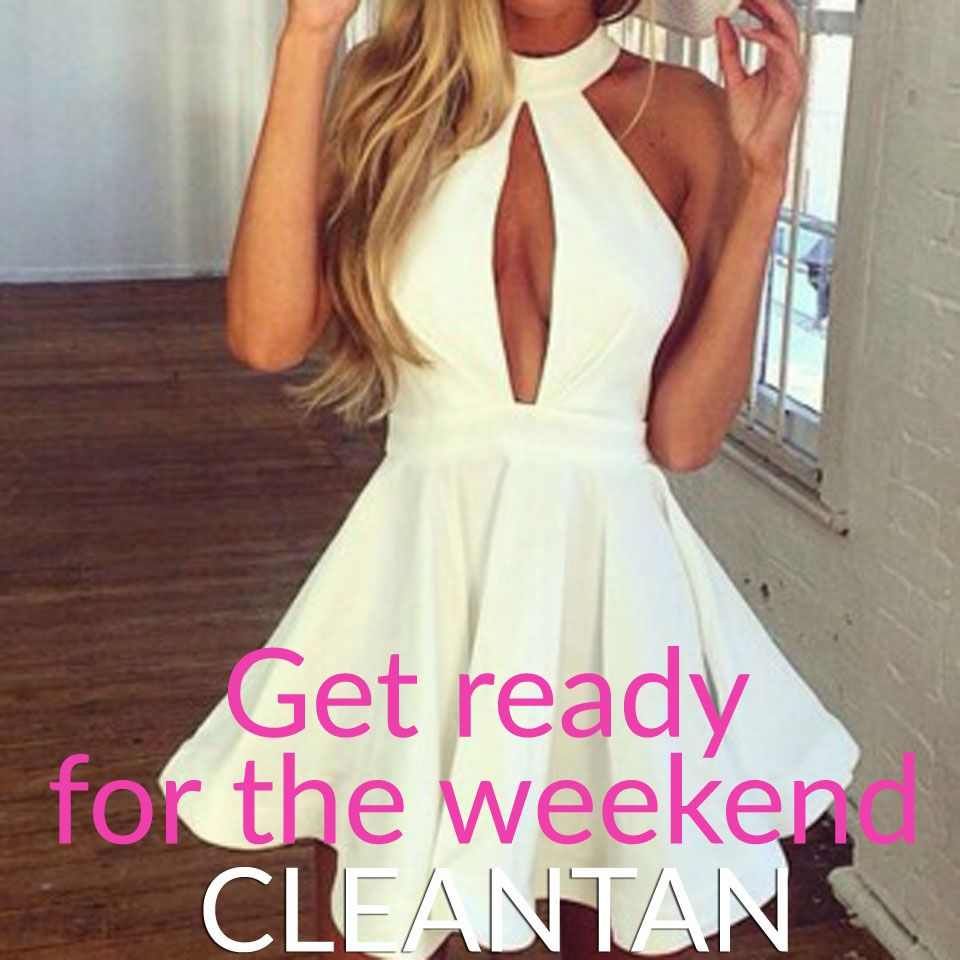 Self tan on thursdayus for a weekend ready look tanspiration