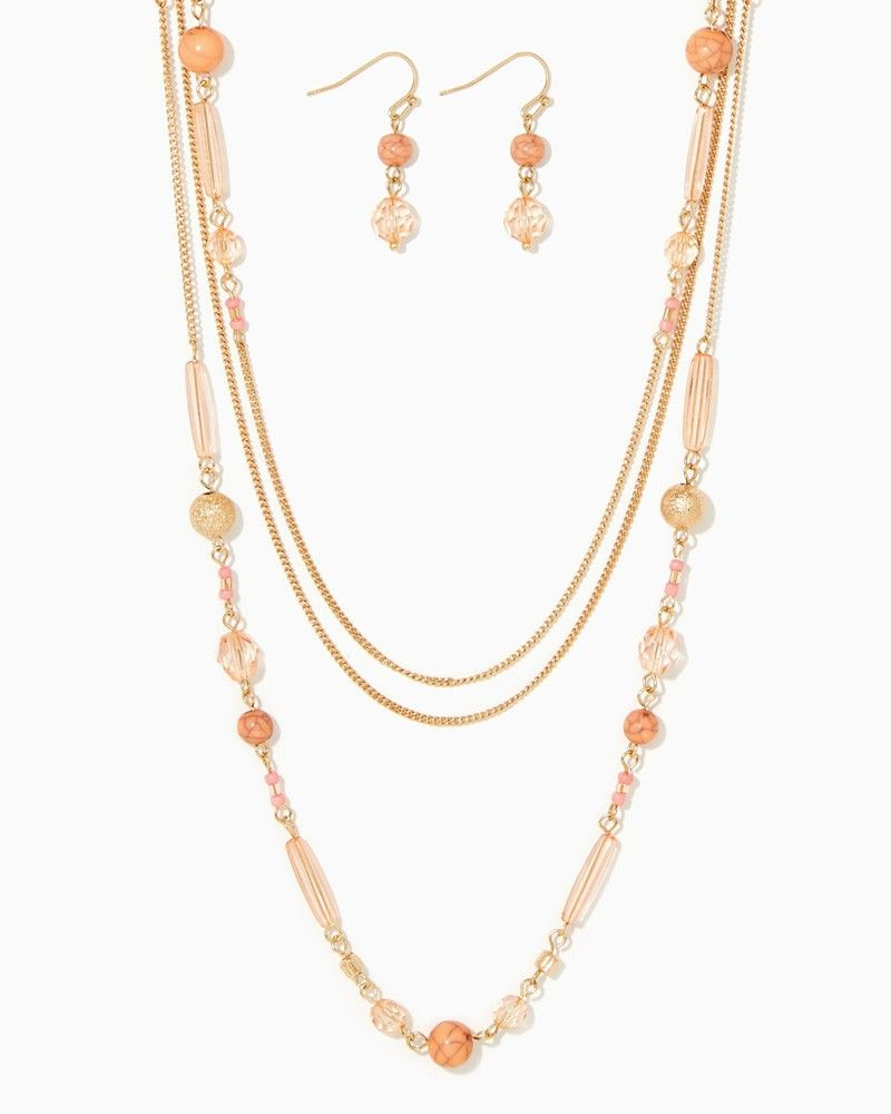 charming charlie | Bar and Chain Necklace Set | UPC: 410007125970 #charmingcharlie