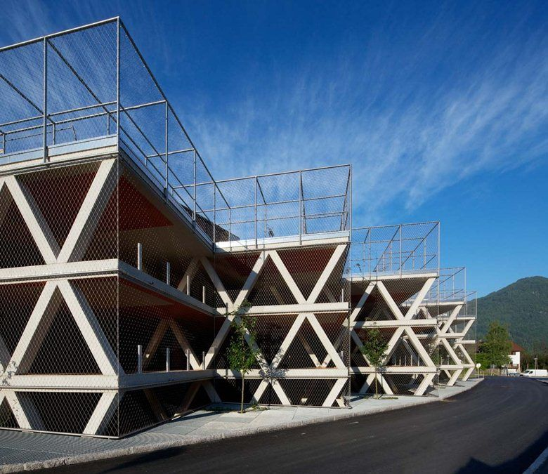 Parking Structure Tyrolean Festival - Picture gallery