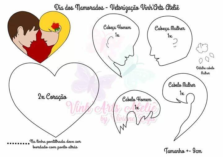 Pin De Brii Germana Em Dia Dos Namorados Com Imagens Tecidos