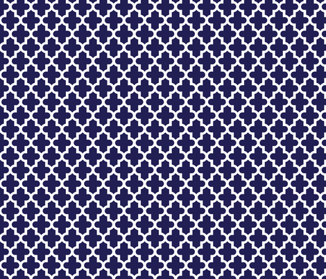 Colorful fabrics digitally printed by Spoonflower Navy