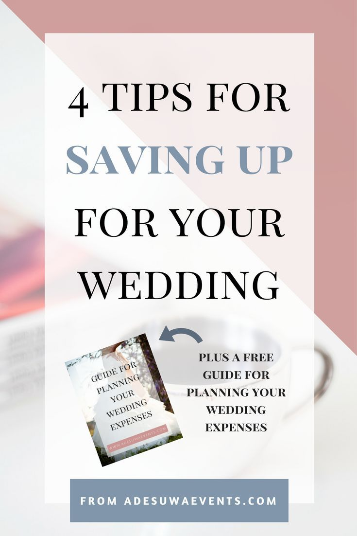 saving up for your wedding my blog at adesuwaevents com
