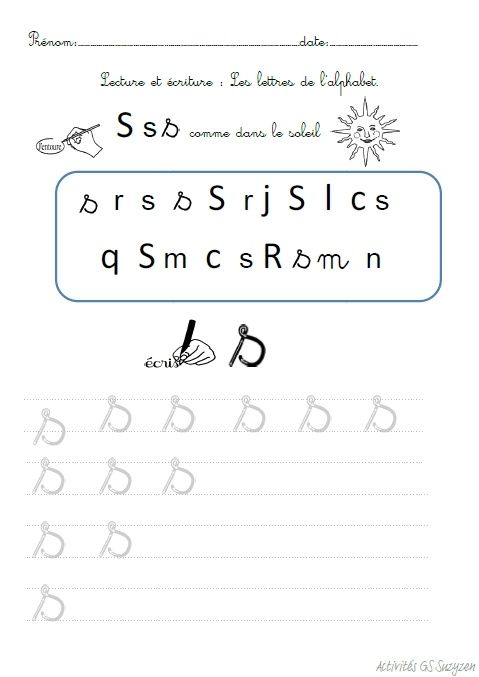 Activités autour de l'alphabet. | Alphabet, Activités de lecture et Grande section