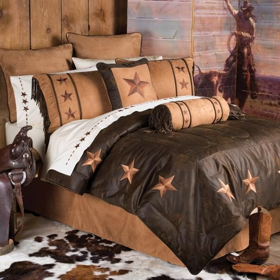 Western Cowboy Bedding Western Decor Rustic Lighting Western Furniture Western Benches Rustic Western Decor Westerns En Matras