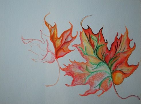 Ask Holly Watercolor Pencils 101 With Fall Leaves Barista Kids