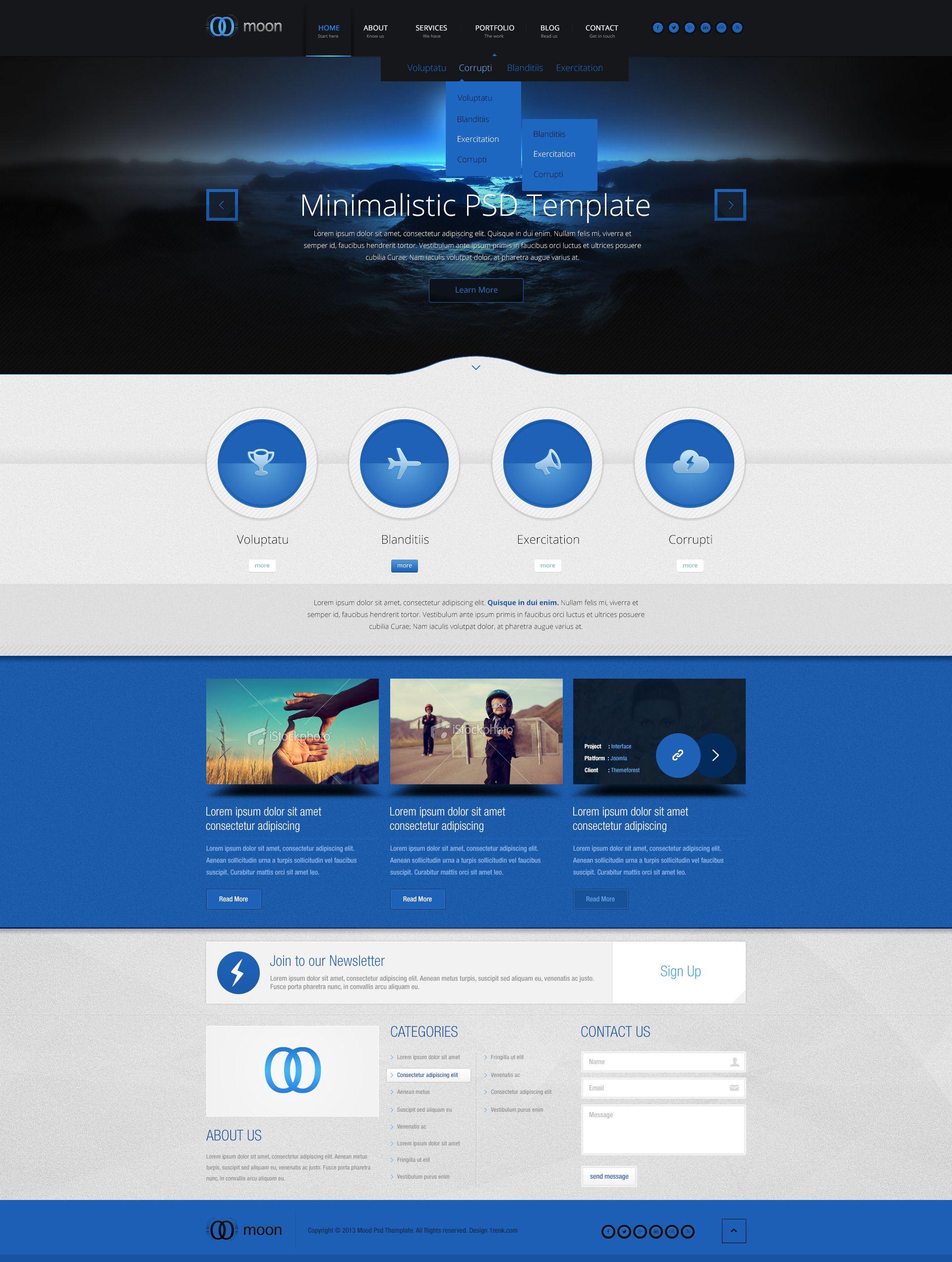 Landing Page Templates Fun Website Design Website Design Flat Design Website