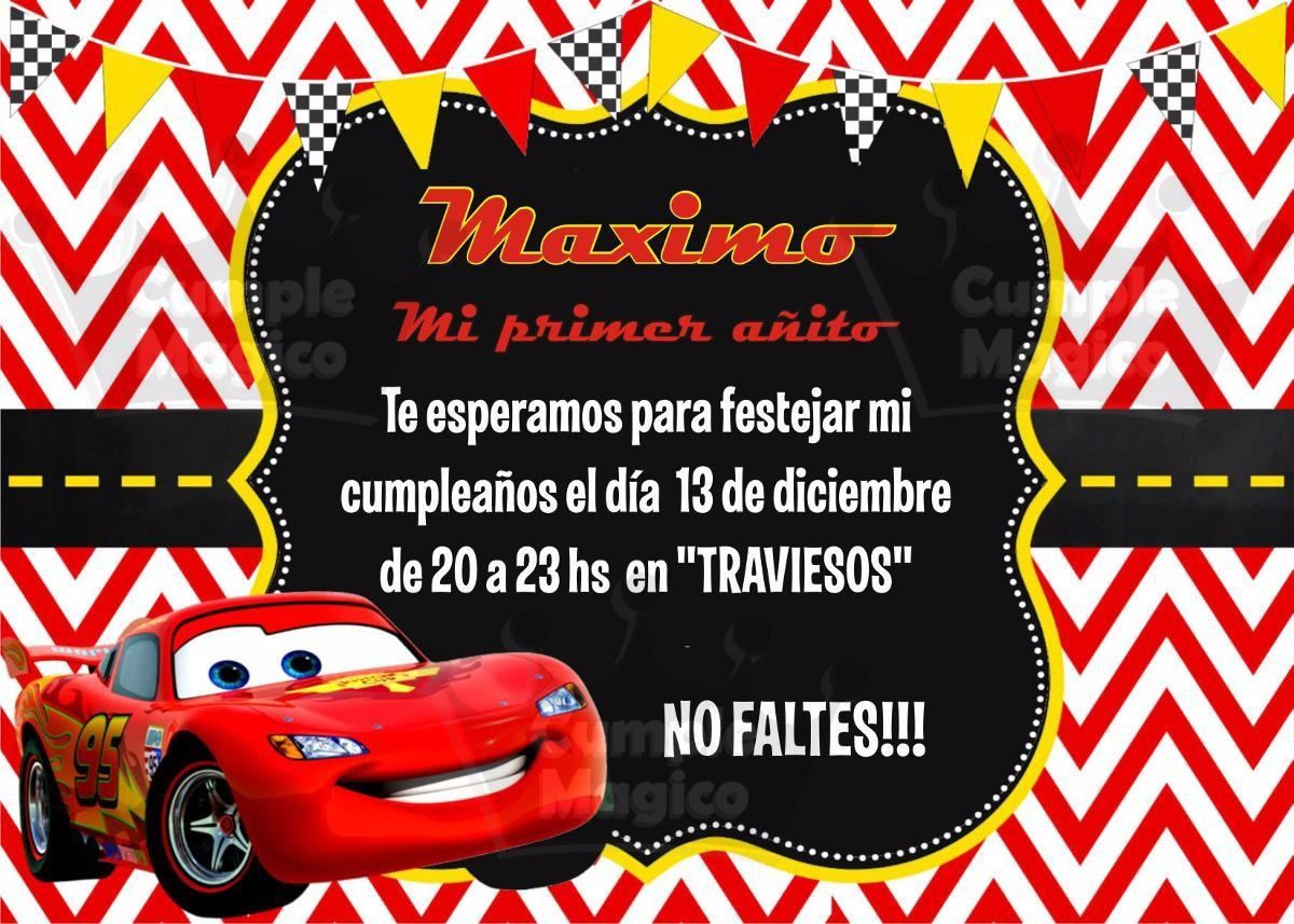 invitaciones cars Buscar con Google fiesta Car themed parties, Car themes, Party themes