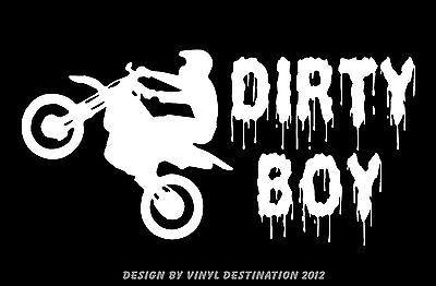 Car Truck Motorcycle Decal Sticker Window Bumper Riding Dirty Funny Got Mud