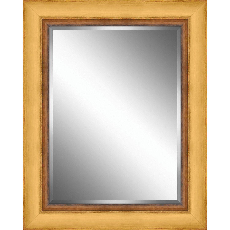 Ashton Wall Décor Llc Wood Framed Beveled Plate Gl Mirror